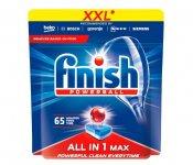 Таблетки All in1 для посудомийних машин FINISH 65 шт/уп (fn.66654)