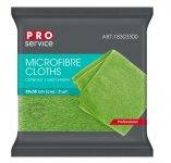 Серветки з мікрофібри, універсальні, 38х38, 3шт, зелені (48уп/ящ) PRO SERVICE (pr.18303300)
