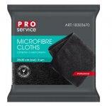 Серветки з мікрофібри, універсальні, BAR AREA, 5 шт, чорні (16шт/ящ) PRO SERVICE (pr.18303670)