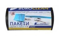 Пакеты для сміття 35л/30шт, Eurostandart, міцні, чорні BuroClean (10200012)