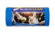 Пакети для сміття 60л/20 шт, міцні, сині 600х800мм, 21мкм BuroClean EuroStandart (10200033)