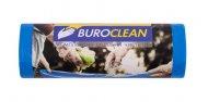 Пакети для сміття 120л/10 шт, міцні, сині 700х1050мм, 22мкм BuroClean EuroStandart  (10200043)