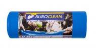 Пакети для сміття 240л/10 шт, міцні, сині 900х1300мм, 35мкм BuroClean EuroStandart (10200062)