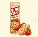 Печиво-сендвіч Multicake з начинкою полуниця-крем 195г (0148322)
