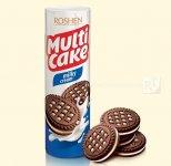 Печиво-сендвіч Multicake з молочно-кремовою начинкою 180г (0148324)
