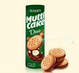 Печиво-сендвіч Roshen Multicake DUO з начинкою какао-горіх 180г (0149659)