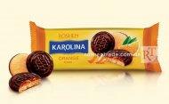 Печиво Roshen Karolina з желейною начинкою зі смаком апельсину 135г (0149955)