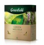 Чай зелений Green Melissa 1,5гр.х100шт,