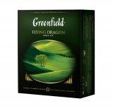 Чай зелений FLYING DRAGON 2гх100шт,