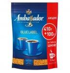 Кава розчинна Ambassador Blue Label, пакет 510г*10 (am.52568)