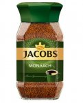 Кава розчинна 95 г, скляна банка, JACOBS MONARCH (prpj.90885)
