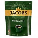 Кава розчинна Jacobs Monarch, 120г , пакет (prpj.90946)