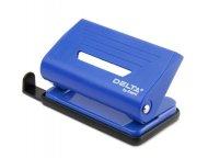 Діркопробивач з пластиковим верхом. Потужність до 10 аркушів. Висувна лінійка зі шкалою форматів. Колір синій. Картонна упаковка. (d3610-02)