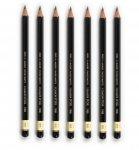 Олівець графітний TOISON D'OR 1900 для креслярських і художніх робіт. Твердість - від