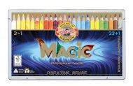 Набір багатобарвних олівців KOH-I-NOOR MAGIC 3 in 1, 23 шт. + блендер (340802)