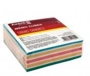 Папір для нотаток 90х90х30мм, непроклеєний. Колір асорті. (d8023)
