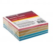 Папір для нотаток 90х90х30мм, проклеєний. Колір асорті. (d8024)