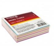Папір для нотаток 80х80х20мм, непроклеєний. Колір асорті. (d8011)
