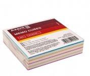 Папір для нотаток 80х80х20мм, проклеєний. Колір асорті. (d8012)