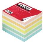 Папір для нотаток 90х90х70 мм, непроклеєний. Асорті кольорів. Щільність 70 г/м2. (8028-a)